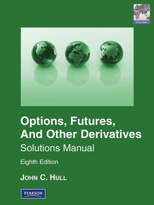 Pearson Education Solutions Manual for Options, Futures & Other Derivatives Global Edition   Dodax.ch