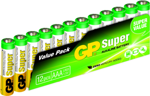 GP Batteries Super Alkaline AAA