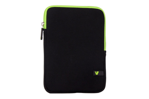 "V7 - Ultra Protective Sleeve for Tablet PCs up to 8"" (TDM23BLK-GN-2E) 