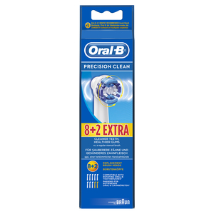 Oral-B Ersatzbürsten Prec.Clean 8+2 | Dodax.at