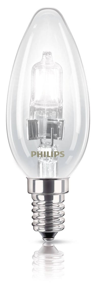 Philips EcoClassic Candle lamp Halogeenkaarslamp | Dodax.nl
