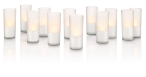 Philips CandleLights White, 12er Set | Dodax.ch