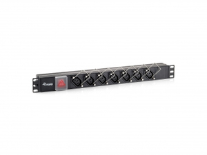 """Equip 19"""" Power Distribution Unit with Cable Lock 