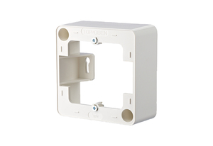 Image of 130829-02-I - Surface mounted housing 1-gang white 130829-02-I