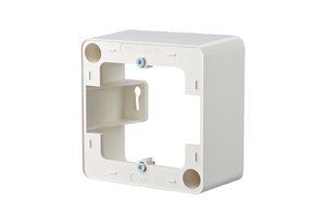 Image of 130829-4302-I - Surface mounted housing 1-gang white 130829-4302-I