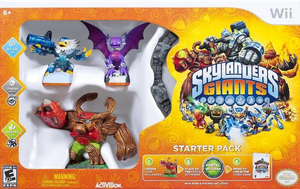 Skylanders: Giants Starter Pack with Three Skylanders Collectible Figures German Edition - Wii | Dodax.ch
