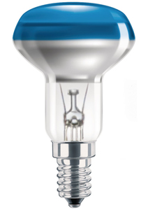 Philips Reflektorlampe NR50 40W, E14, blau | Dodax.at