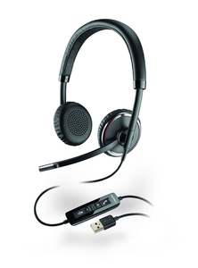 Plantronics Blackwire C520 Binaural Head-band Black headset | Dodax.co.uk