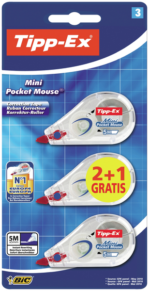 TIPP-EX 8983742 correction tape | Dodax.com