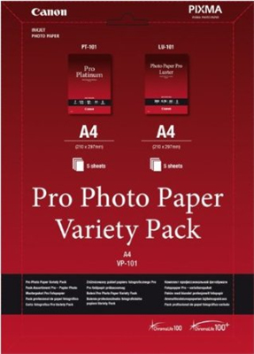 Canon Pro Photo Paper Variety Pack A4 | Dodax.co.uk