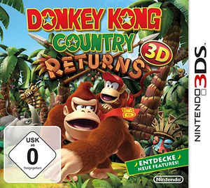 Donkey Kong Country Returns 3D - 3DS | Dodax.fr