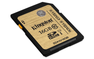 SDHC Card 16GB Ultimate, Kingston, UHS-I | Dodax.at