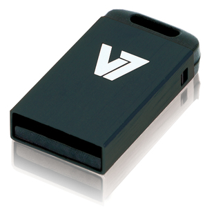 V7 Nano USB 2.0 Flash Drive 8GB noir lecteur USB flash | Dodax.fr