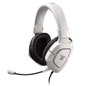 AX 180 Gaming Headset (PS3-Xbox 360-PC-MAC) (White)
