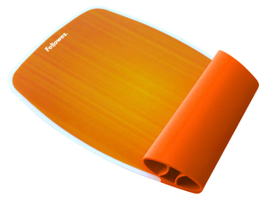 Fellowes - Silikon-Handgelenkauflage, Orange (9362401) | Dodax.ch
