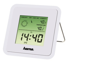 Hama TH50 Innenraum Electronic environment thermometer Weiß | Dodax.ch