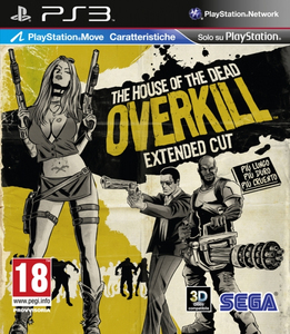 The House of the Dead: Overkill Extended Cut; Italian Version - PS3 | Dodax.co.jp