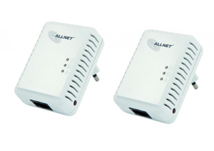 ALLNET ALL168250DOUBLE PowerLine Netzwerkadapter | Dodax.at