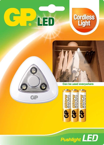 GP Pushlight, 3 LEDs | Dodax.ch