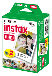 Fujifilm Instax Mini 10 Blatt 2-P 51162477 | Dodax.at