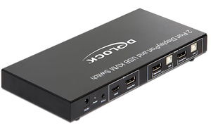 Delock 2 Port Displayport KVM Switch | Dodax.de