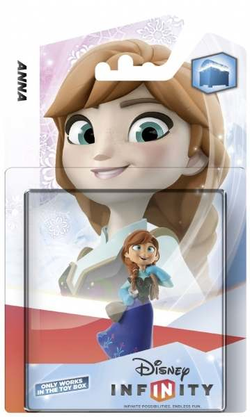 Disney - Disney Infinity Anna Collectible Figure (DINF-ANNA) | Dodax.co.uk