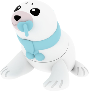 Emtec M334 8GB Baby Seal 8GB USB 2.0 Blue,White USB flash drive | Dodax.co.uk