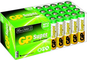GP Batteries Super Alkaline AAA | Dodax.nl