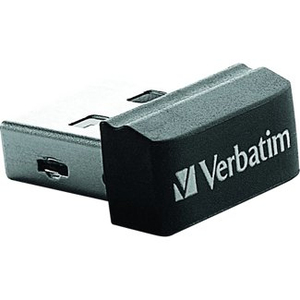 Verbatim 8GB Store' n' Go Nano USB 2.0 8GB USB 2.0 Schwarz USB-Stick | Dodax.at