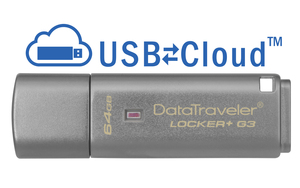 Kingston DataTraveler USB3 Locker+ G3 64GB | Dodax.ch