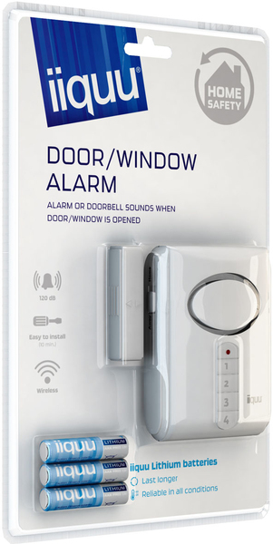 iiquu Door/Window Alarm | Dodax.ch