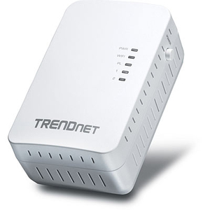Trendnet Powerline 500 AV2 Wireless Access Point 500Mbit/s Ethernet LAN Wi-Fi White 1pc(s) PowerLine network adapter | Dodax.co.uk