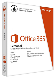 Microsoft - Office 365 (Personal) | Dodax.ch