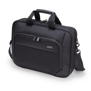 "Dicota Top Traveller ECO 17.3"" Messenger Zwart 