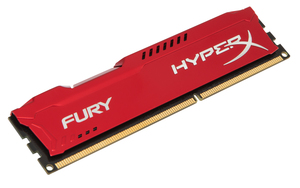 HyperX FURY DDR3 8GB 1600MHz, Red Series | Dodax.ch