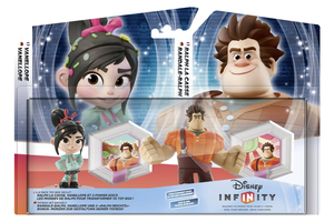 Disney - Disney Infinity Wreck-It-Ralph Two Pack German-French Version (IQAX000004) | Dodax.nl
