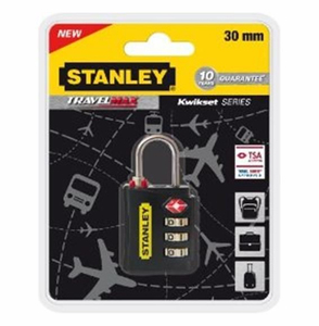 Stanley - Travelmax Padlock, 30 mm, 3 Digit (81140393401) | Dodax.it
