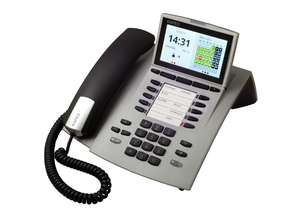 AGFEO ST 45 IP LCD Wired handset Silber | Dodax.at