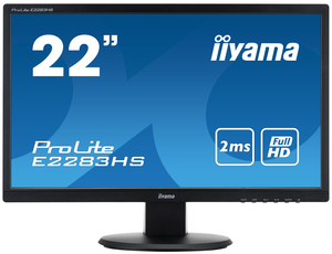 "iiyama ProLite E2283HS-B1 21.5"" Black Full HD LED display 