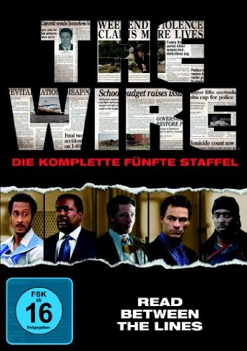 The Wire, 5 DVDs. Staffel.5 | Dodax.at