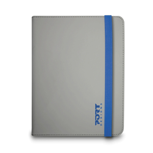 "PORT Designs - Noumea Tablet Case 9""-10"", Blue/Grey (201313) 