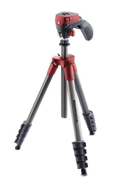 Manfrotto Stativ Compact Action rot | Dodax.ch