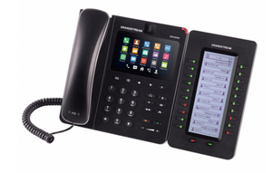Grandstream Networks GXV3240 6Zeilen LCD WLAN Wired handset Schwarz IP-Telefon | Dodax.at