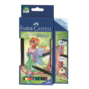 Faber-Castell - Anime Art Fairies, Coloured Pencil (114482) | Dodax.com