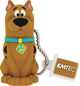 Emtec USB2.0 HB106 8GB HB Scooby Doo 8GB USB 2.0 Type-A Brown USB flash drive | Dodax.co.uk