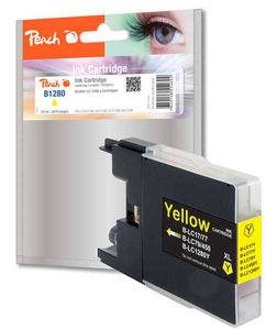 Peach Tinte Brother LC-1280y yellow | Dodax.at