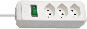 Brennenstuhl - Power Extension H05VV-F  2m White (1158612) | Dodax.ch