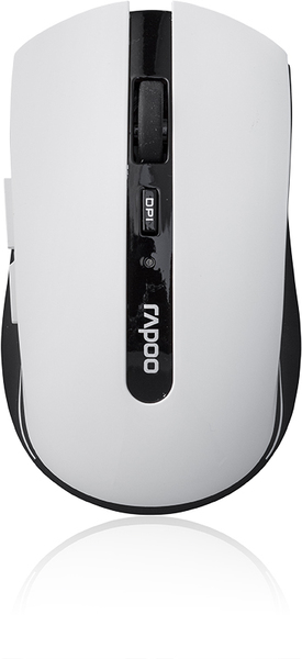 Rapoo - Wireless Optical Mouse 1000dpi White (7200P) | Dodax.at