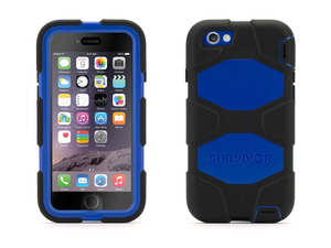 Griffin - Survivor All-Terrain Protective Case for iPhone 6/6s, Blue/Black (GB38905) | Dodax.ch