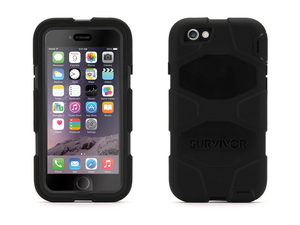 Griffin - Survivor All-Terrain Protective Case for iPhone 6/6s, Black (GB38903) | Dodax.at